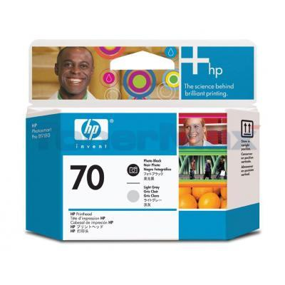 HP DESIGNJET Z2100 NO 70 PRINTHEAD PHOTO BLACK AND LIGHT GRAY